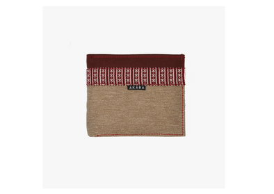 Men's Wallet - Red Ramit