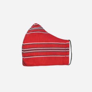 Handwoven Facemask - Red Inabel