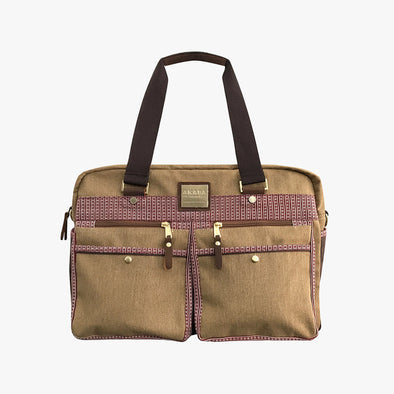 Cargo Boston Bag - Red Ramit