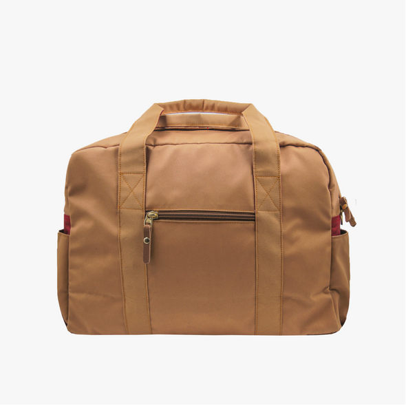 Lleva Boston Bag - Maroon Langkit