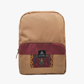 PRE-ORDER for delivery on Feb 15 - Yael Backpack - Maroon Langkit