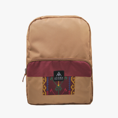 Yael Backpack - Maroon Langkit