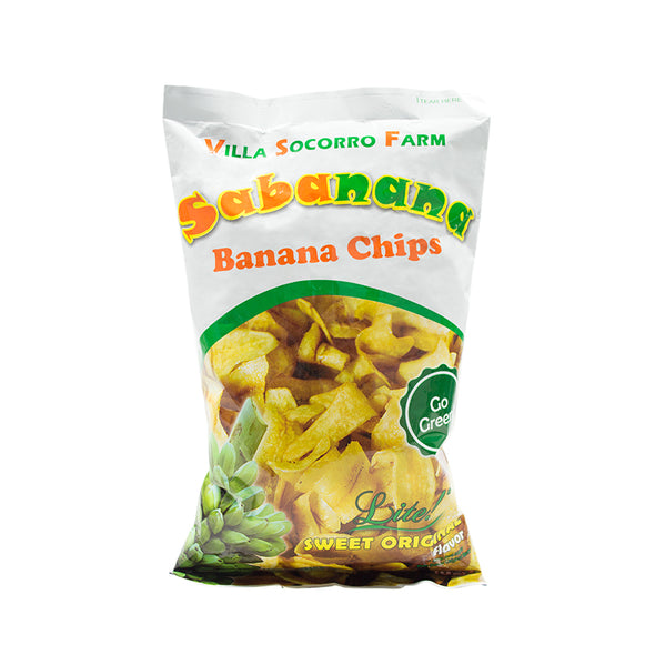 Sabanana Banana Chips - Simply Lite