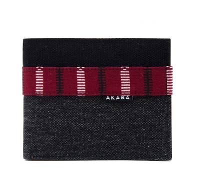 Men's Wallet - Maroon Ramit