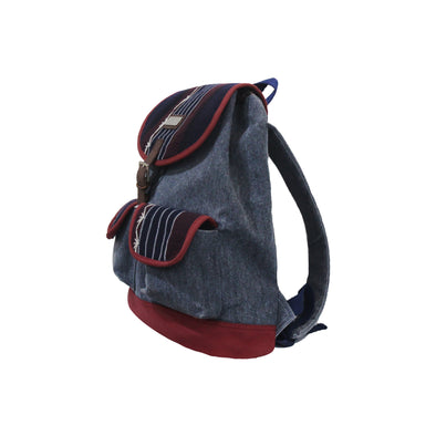 Sierra Mini Knapsack - Blue Palay Pinilian