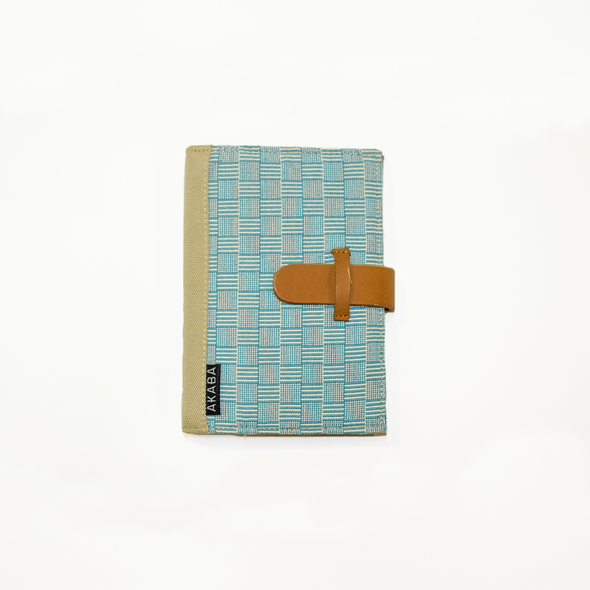 Teal Inabel Passport Holder