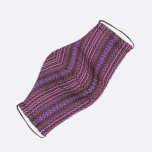 Handwoven Facemask - Violet Inabel