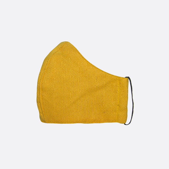 Handwoven Facemask - Yellow Inabel