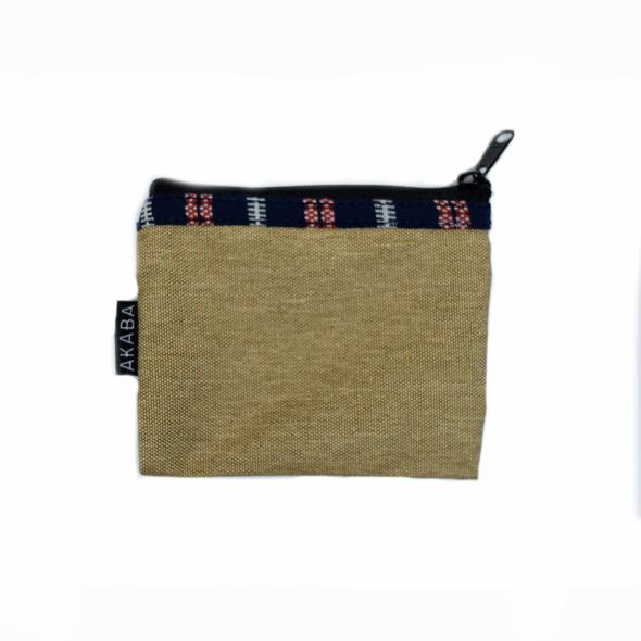 Coin Purse - Blue and Red Ramit