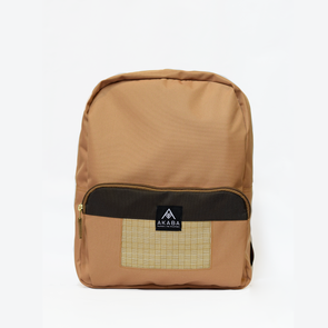 PRE-ORDER for delivery on Feb 15 - Yael Backpack - Tan Square Inabel