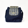 Lago Bucket Satchel Bag - Blue T'nalak