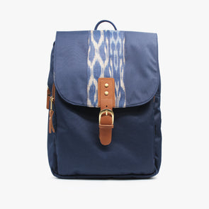 Sierra Mini Backpack - Blue T'nalak