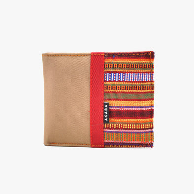 Men's Wallet - Red Sinaluan