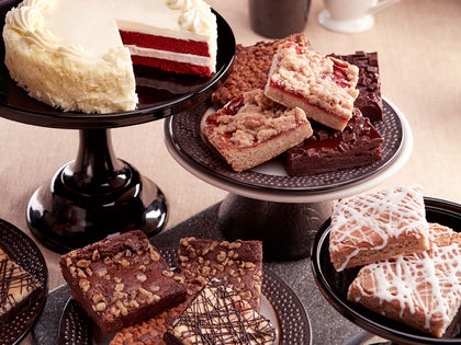 Classic Cake and 8pc JUMBO Brownies