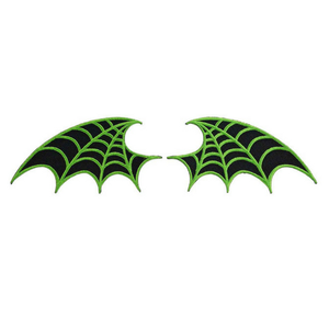 Web Wing Patch Pair