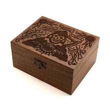 Load image into Gallery viewer, Grim Reaper - Wooden Trinket Box