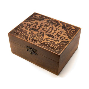 Always Watching - Wooden Trinket Box