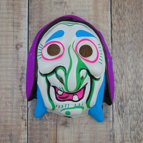 Vintage Friendly Crone Mask