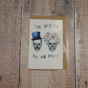 Til Death Do Us Part Greeting Card