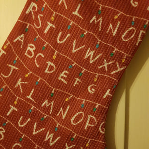 Stranger Things Christmas Stocking