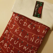 Load image into Gallery viewer, Stranger Things Christmas Stocking