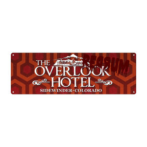 The Overlook Hotel Slim Tin Sign