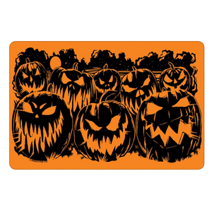 Evil Pumpkins Mini Tin Sign