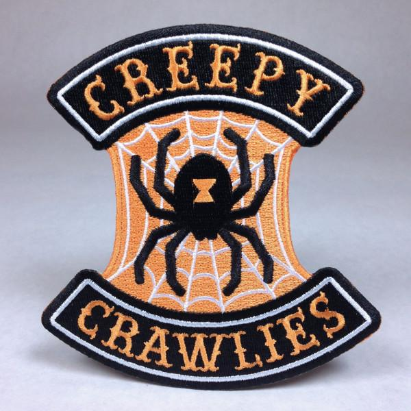 Creepy Crawlies Spider Biker Patch