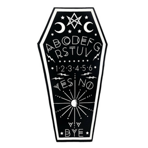 Ouija Board Coffin Towel