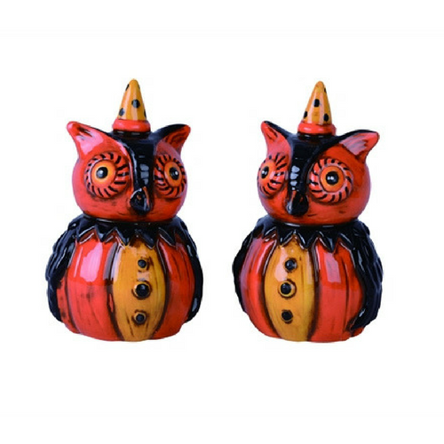 Johanna Parker Owl Salt and Pepper Set
