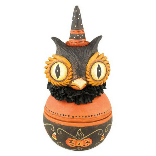 Hooty Owl Candy Bowl by Johanna Parker Design