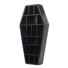 Load image into Gallery viewer, Sourpuss Mini Curio Coffin Shelf
