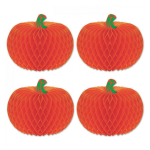 Beistle Tissue Pumpkins - Pack of 4