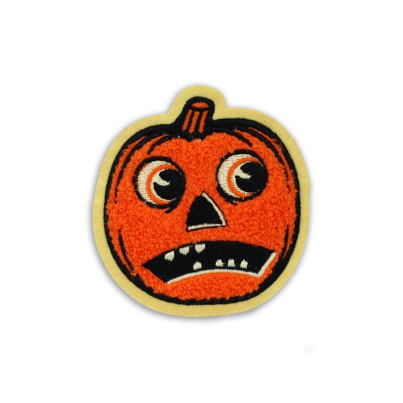 Creepy Company Beistle Scaredy Jack O Lantern Patch