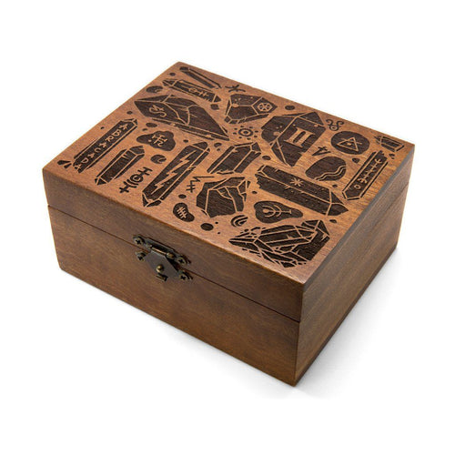Abracadabra - Wooden Trinket Box