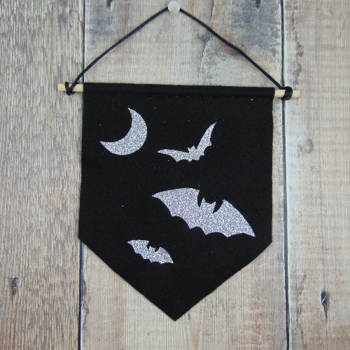 Bat Moon Wall Hanging by Louna Love