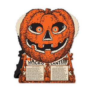 Beistle Jack-O Lantern Fortune Game