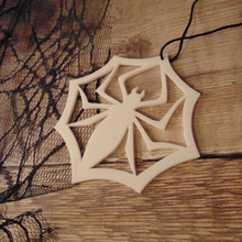 Load image into Gallery viewer, *Boo-tique Exclusive* Spider Snowflake Tree Decoration
