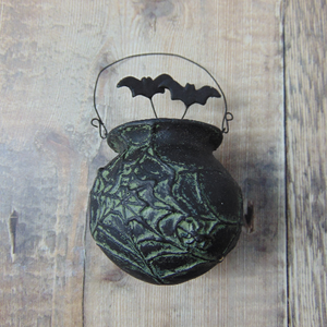 Cauldron Decoration by Bethany Lowe