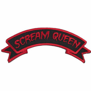 Scream Queen Patch