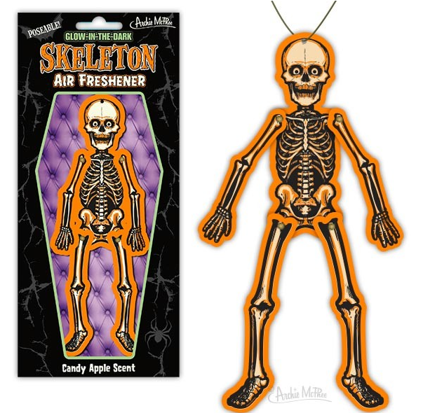 Poseable Skeleton Air Freshener