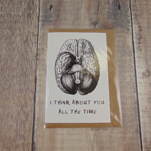I Think About You All The Time Greeting Card