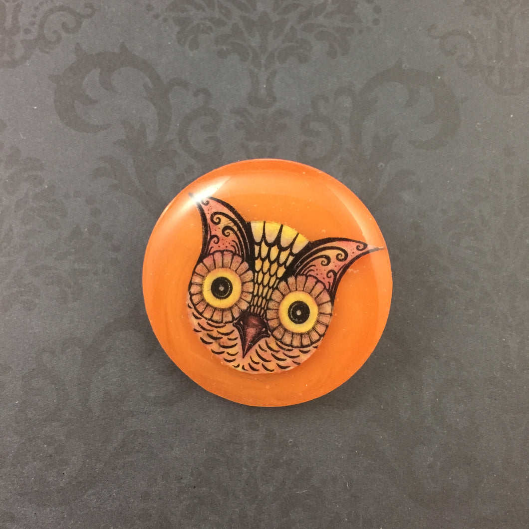 Owl Brooch - Johanna Parker - Partners in Craft