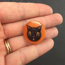 Load image into Gallery viewer, Cat Pin - Johanna Parker - Partners in Craft