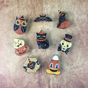 Johanna Parker Enamel Pin Set - All 8 Pins