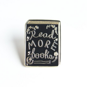 Read More Books Enamel Pin