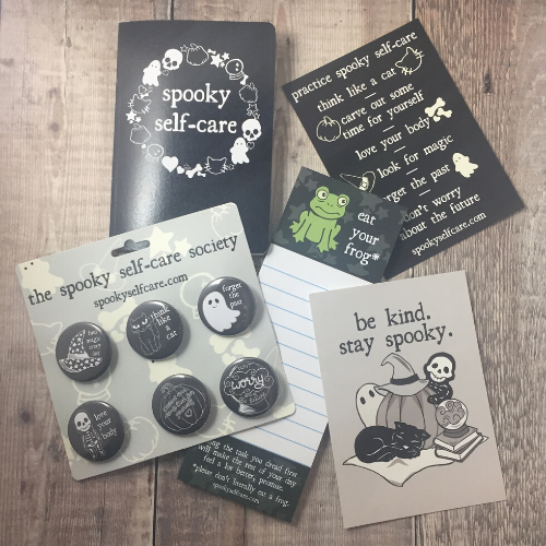 Spooky Self-Care Supplies Collection