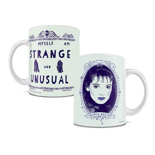 Lydia Deetz Strange and Unusual Mug