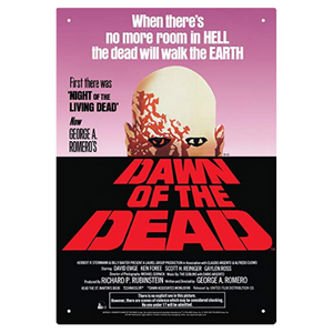 Dawn of the Dead Movie Poster Tin Sign