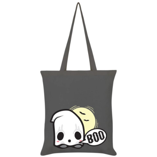 Baby Ghost Grey Tote Bag